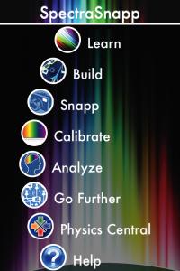 spectrasnapp_menu